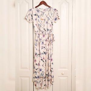 PinkBlush High Low floral Dress